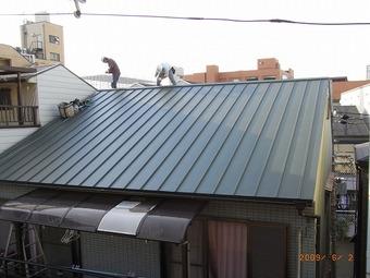 大阪市天王寺区C様邸屋根リフォーム施工事例 リフォーム後 その2