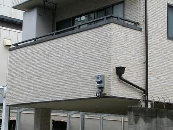 大阪市中央区サイデング補修工事施工例 リフォーム後