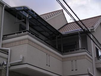 鶴見区k様邸テラス工事施工事例 リフォーム後 その2