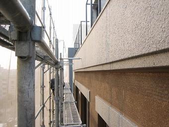 大阪市天王寺区Aマンション外壁改修施工事例 リフォーム後 その3