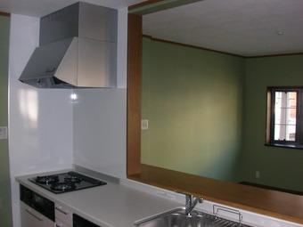 大阪市鶴見区A様邸リビング、キッチン施工事例 リフォーム後 その3