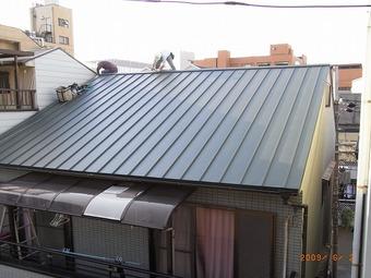 大阪市天王寺区C様邸屋根リフォーム施工事例 リフォーム後 その4