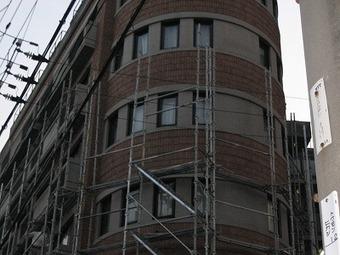 大阪市天王寺区Aマンション外壁改修施工事例 リフォーム前 その2
