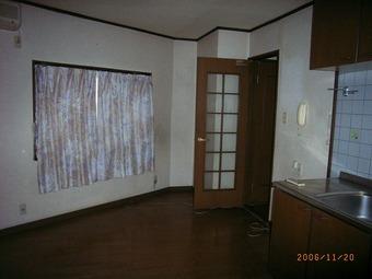 大阪市鶴見区A様邸リビング、キッチン施工事例 リフォーム前 その2
