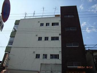 大阪市城東区 マンション外壁塗装リフォーム事例 リフォーム前 その2