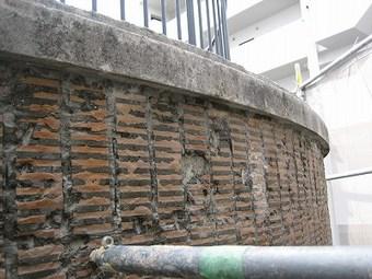 大阪市天王寺区Aマンション外壁改修施工事例 リフォーム前 その3