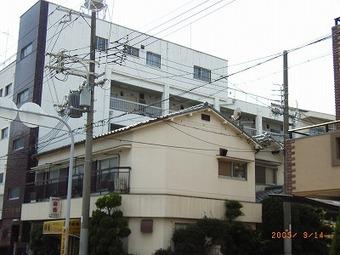 大阪市城東区 マンション外壁塗装リフォーム事例 リフォーム前 その3