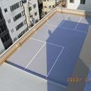 大阪市中央区Nビル屋上防水施工事例