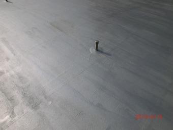 大阪市天王寺区Tビル屋上防水施工事例 リフォーム後 その3
