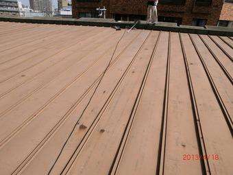 大阪市天王寺区Y様邸屋根遮熱塗装工事施工事例 リフォーム前