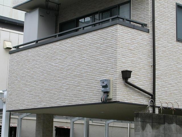 大阪市中央区サイデング補修工事施工例