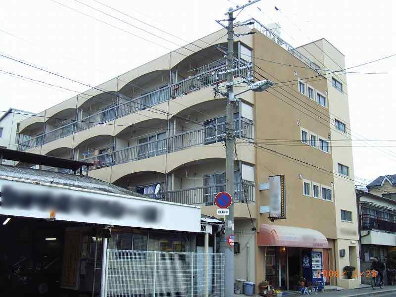 大阪市城東区 マンション外壁塗装リフォーム事例